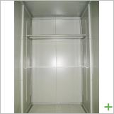内部:可動式棚が設置済み